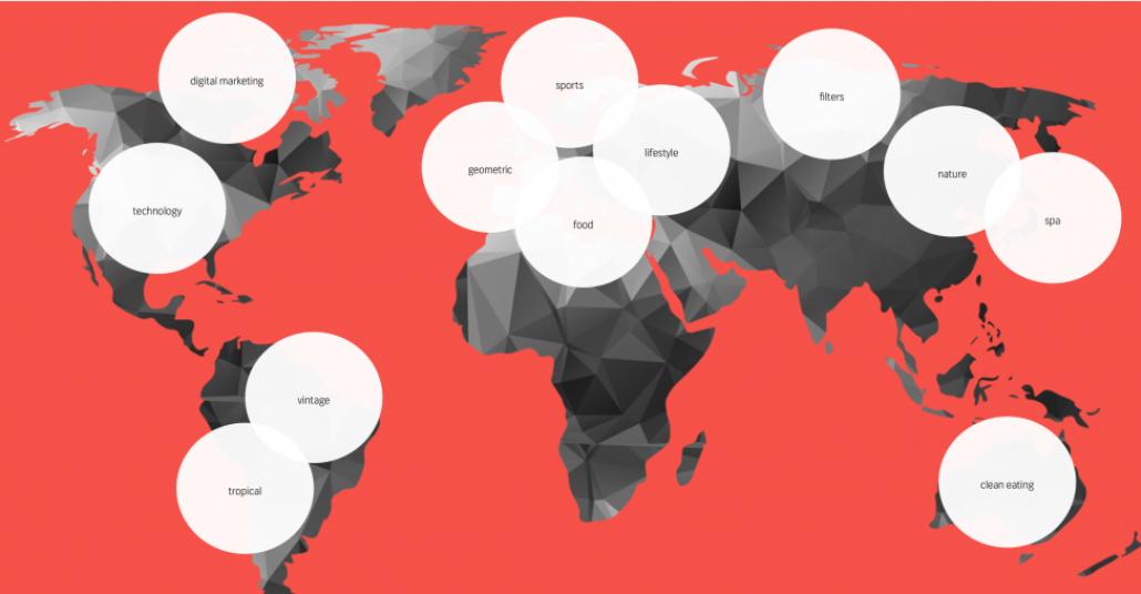 Shutterstock Derlemesiyle 2015'in Yaratıcı Trendleri