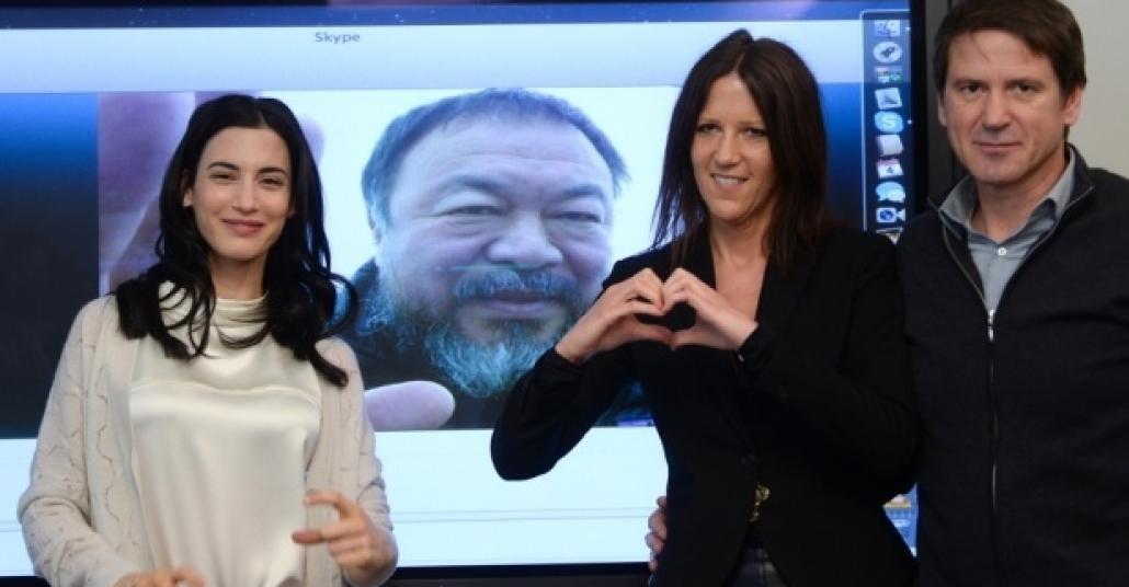 Ai Weiwei Skype Aracılığıyla Berlin'de Film Çekecek
