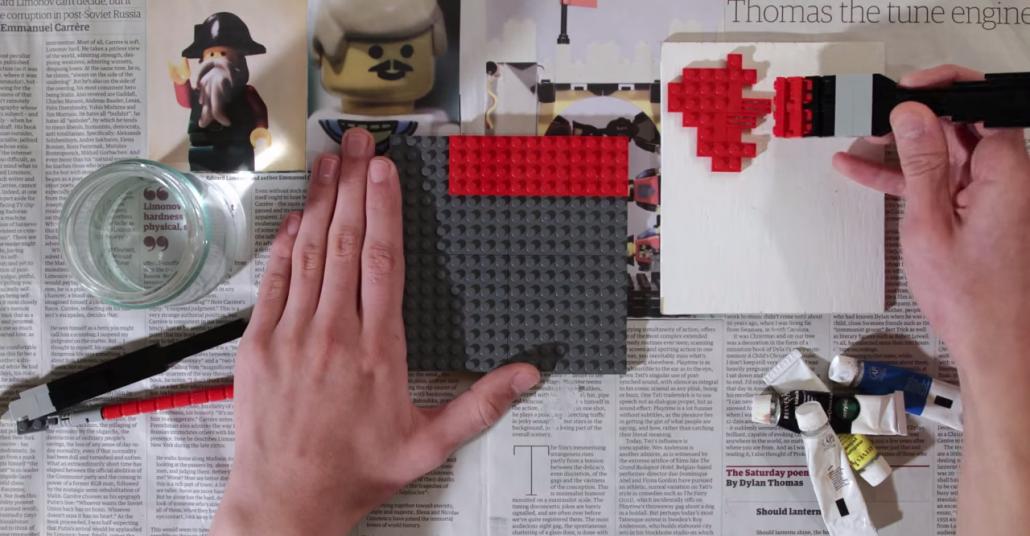 Kısa Film: Lego'larla Piet Mondrian Eseri