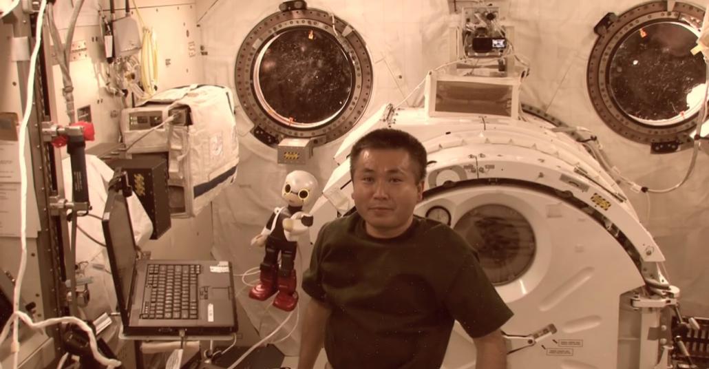 Dentsu ve Toyota'nın Astronot Robotu Dünya'ya Döndü