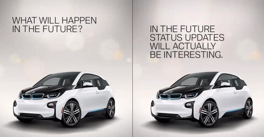BMW'den Instagram'da Gelecek Kehanetleri Piyangosu