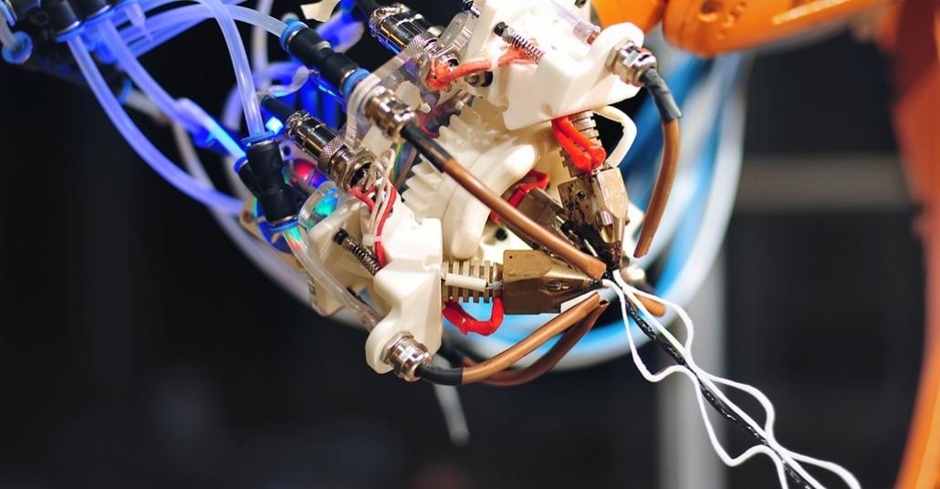 Örümcek Ağı Ören 3B Baskı Robotu