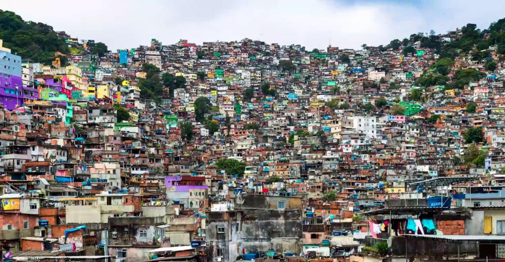 Rio de Janeiro'nun Süper Çözünürlüklü Hızlandırılmış Videosu