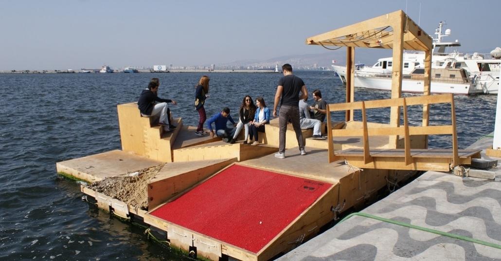 2. Tasarım Bienalinde Yapılan Kamusal Yerleştirmeler ve Proje Sahipleriyle Röportajlar
