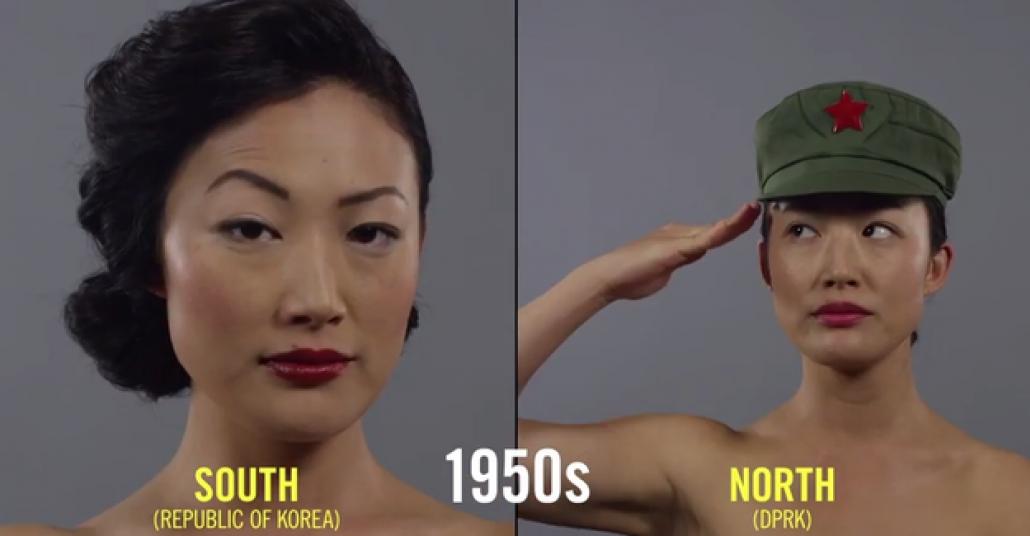 Kore'deki Güzellik Anlayışının 100 Yıllık Değişimi