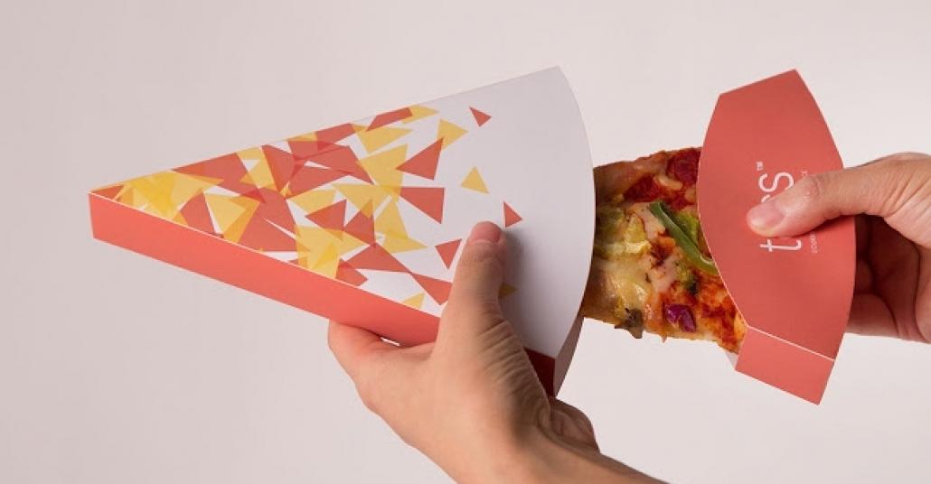 Dilim Dilim Pizza Kutusu
