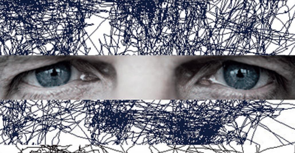 Sadece Gözler Kullanılarak Çizilen Portreler