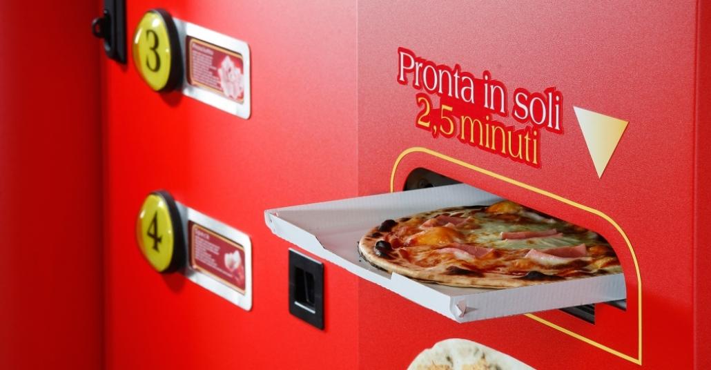 Taze Pizza Otomatı