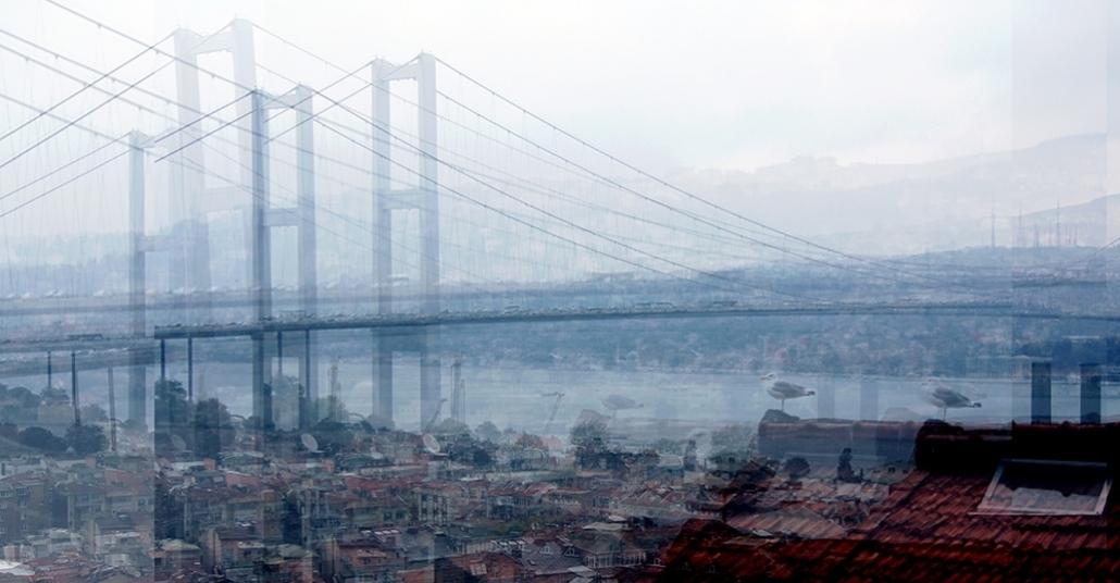 Çoklu Pozlamayla Büyük Şehirlerin Dokusu