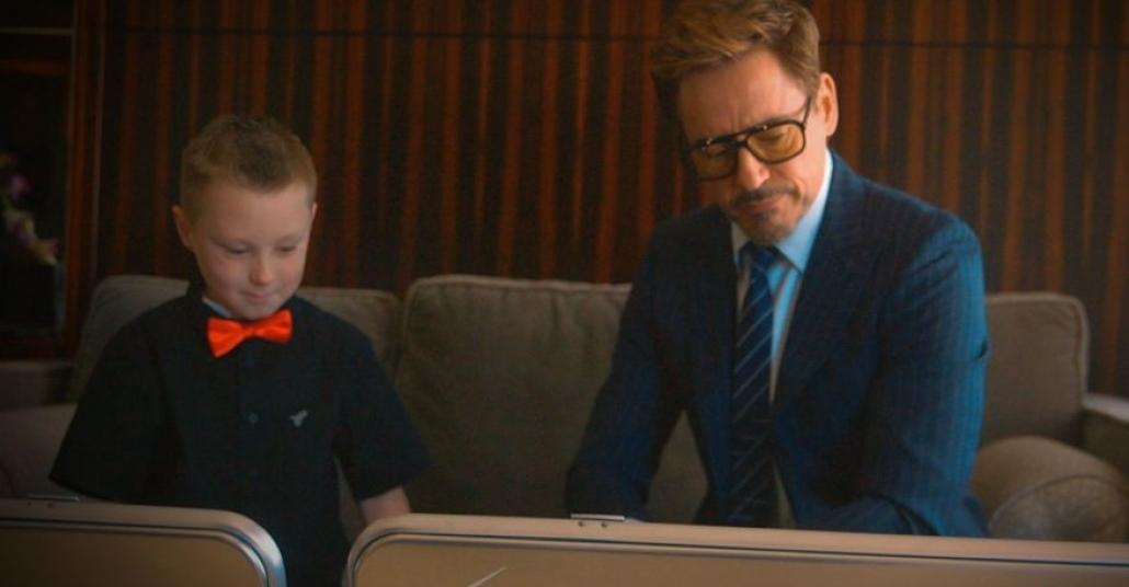 7 Yaşındaki Alex Artık Resmen Iron Man Jr