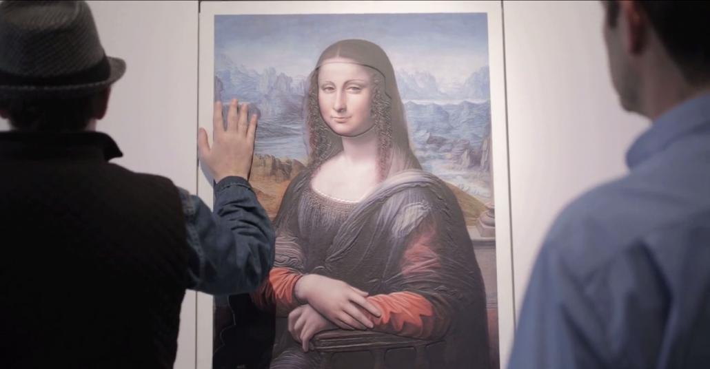 Görme Engellilere Ünlü Sanat Eserlerini Gösteren Sergi