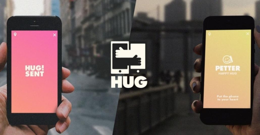 Sizin Yerinize Sevdiklerinize Sarılan Uygulama: Hug