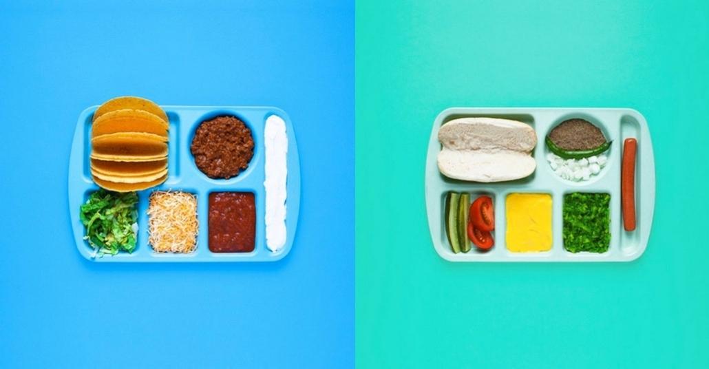 Sandviç Malzemelerini Tabldotla Servis Etmek
