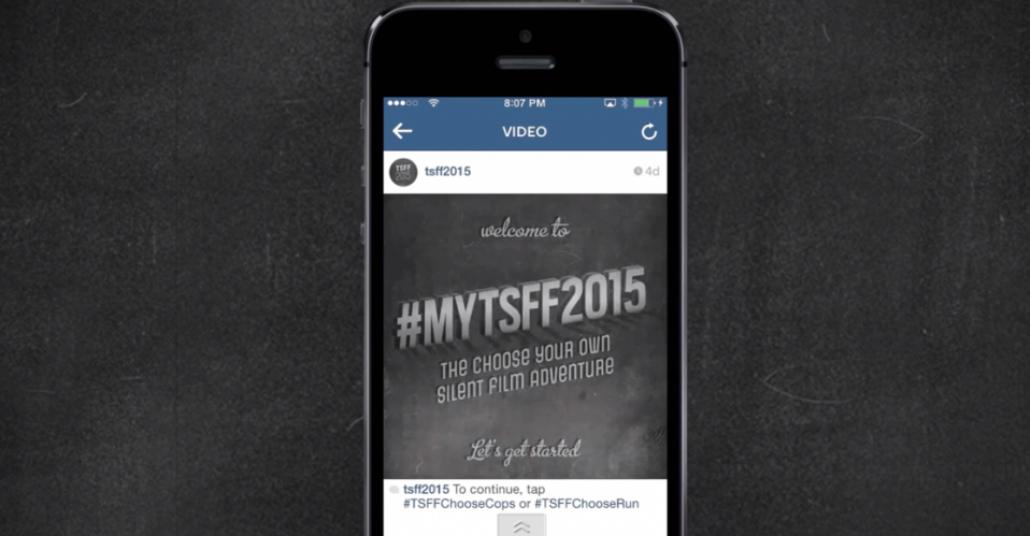 Toronto Sessiz Film Festivali'nin Son Instagram Kampanyası