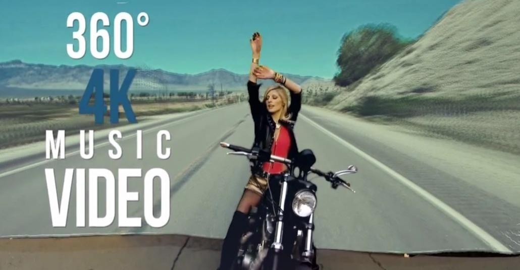 4K Çözünürlükle 360 Derece Müzik Videosu