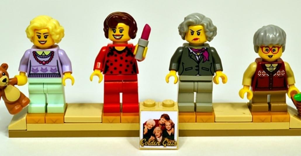 Altın Kızlar Lego Seti