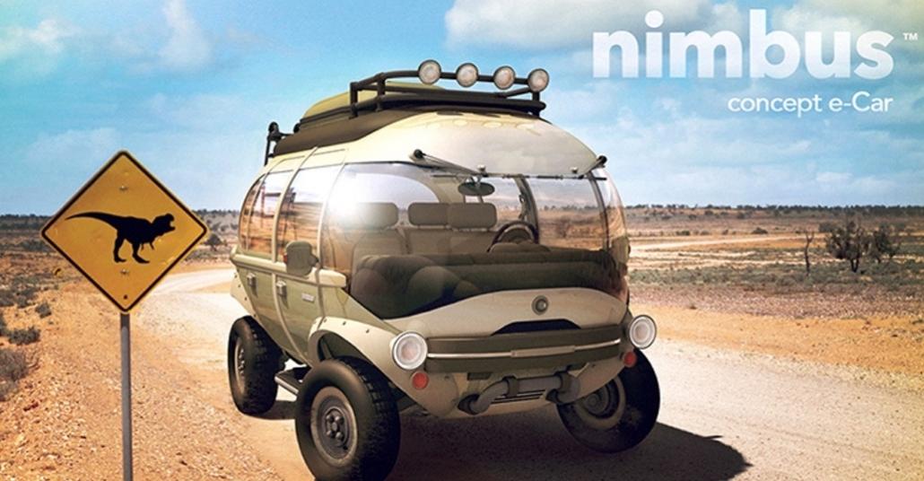Şirin Tasarımıyla Elektrikli Otomobil: Nimbus