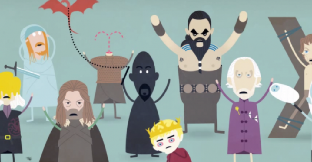 Dumb Ways To Die Yorumuyla Game of Thrones'daki Ölümler