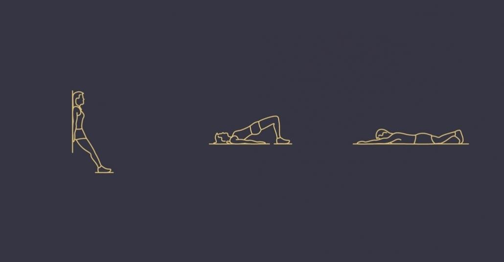 Minimalist GIF'lerle Egzersiz Eğitimi