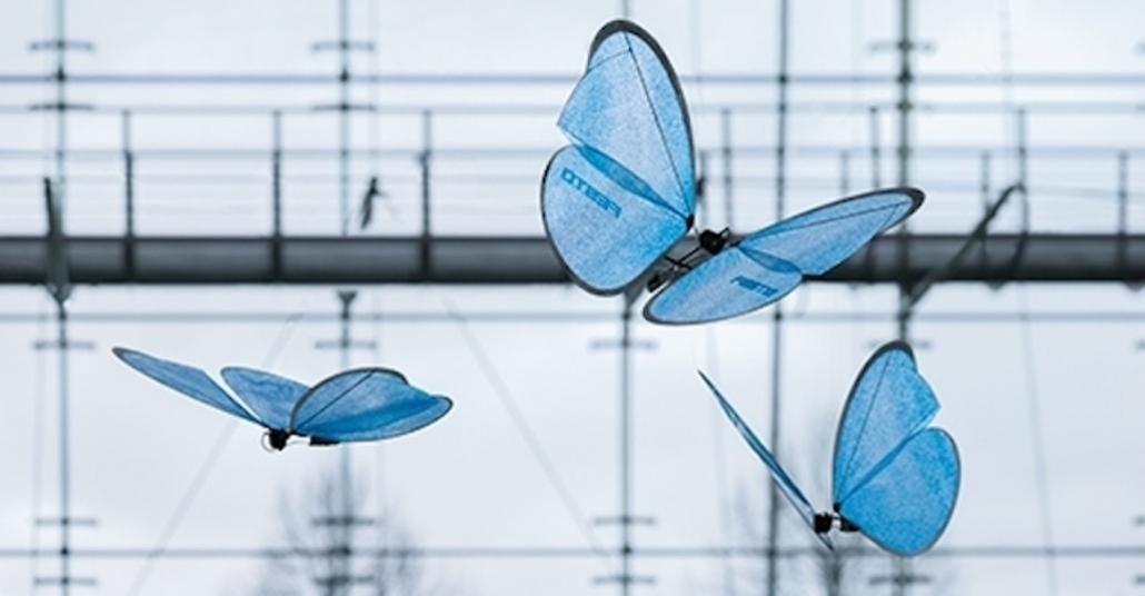 Mavi Kelebek Drone'lar