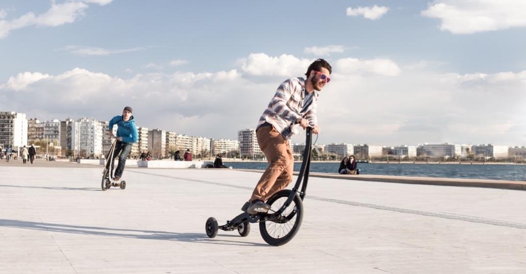 Minimalist Bisiklet Tasarımıyla Halfbike