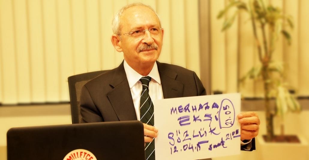 Kemal Kılıçdaroğlu, Ekşi Sözlük'te Kullanıcıların Sorularını Yanıtladı