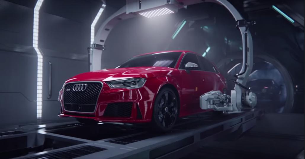 Audi RS 3 – Doğum