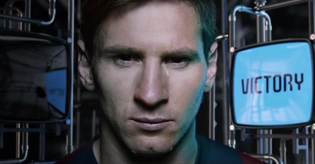 Messi'nin Gözyaşlarından Futbolun Çikolatası