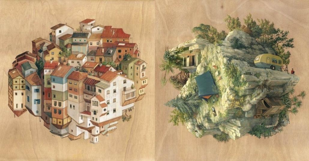 Cinta Vidal'ın Sürreal Mimariyle Kurulan Dünyası