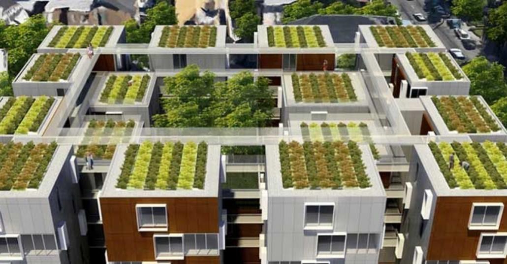 Fransa'nın Yeşil Çatıları