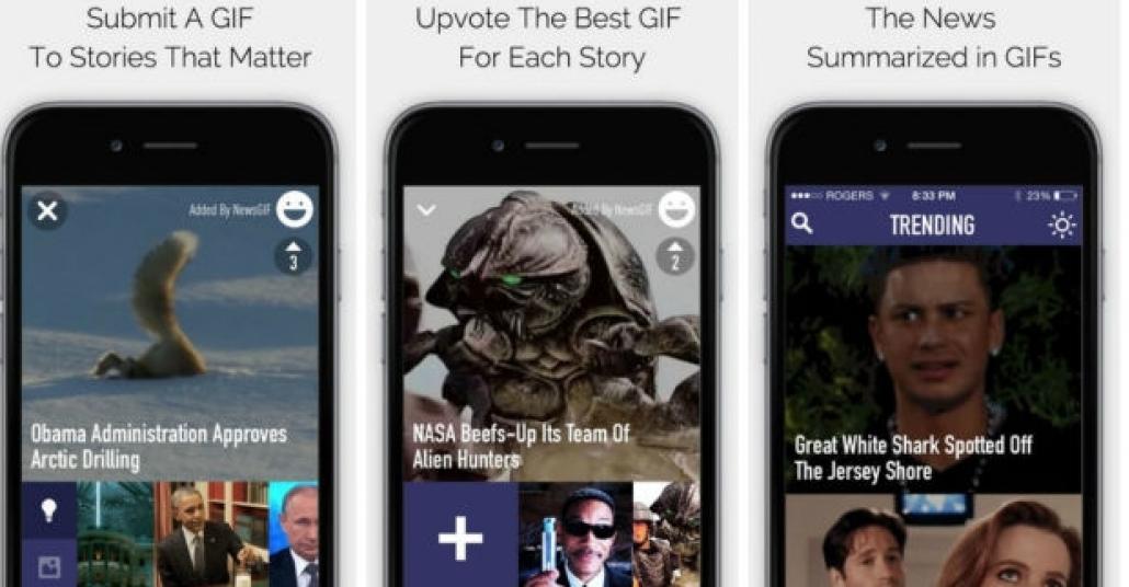Haber Kaynağınızı GIF Formatında Alır Mıydınız?