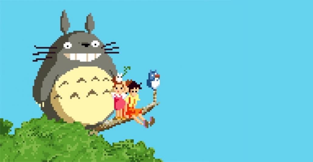 Miyazaki Filmlerinin 8-bit Halleri