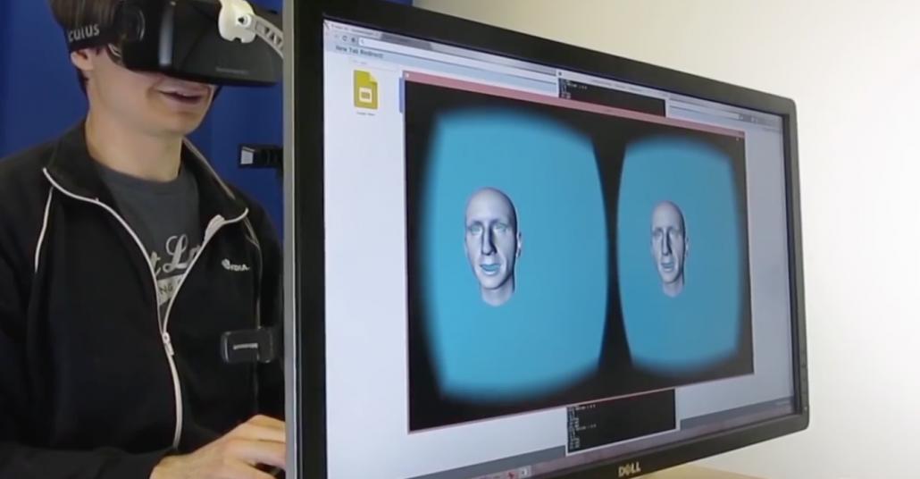 Yüzünüzün Performansını Sanal Gerçeklik Ortamında Alır Mıydınız?