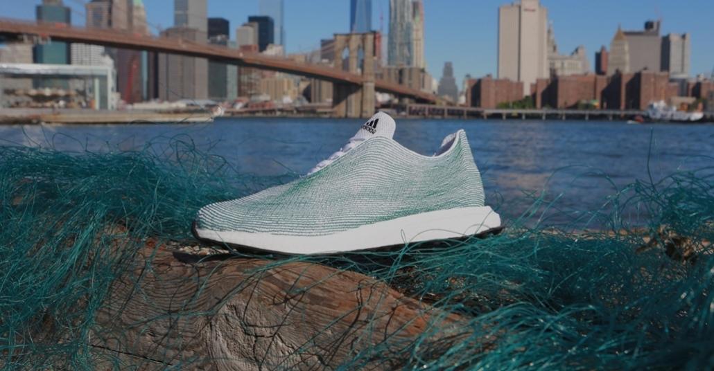 Adidas Okyanustaki Plastik Atıklardan Ayakkabı Yaptı