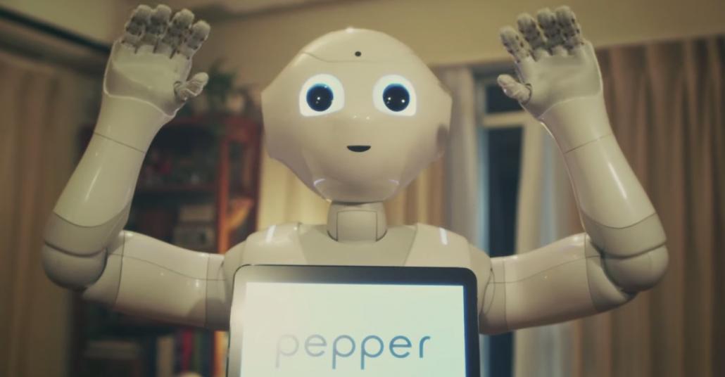 Ruh Halini Anlayıp Sırdaş Olan Duygusal Robot Pepper [Cannes Lions 2015]