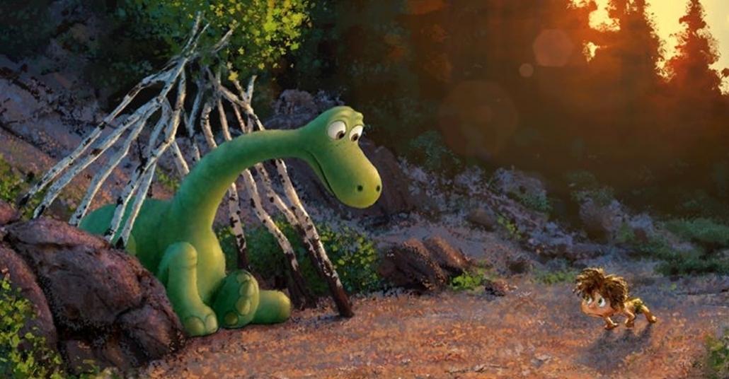 Pixar'in Yeni Animasyonu The Good Dinosaur'un İlk Fragmanı