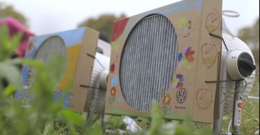 Volkswagen'dan Çocuklara Özel Hava Temizleyici