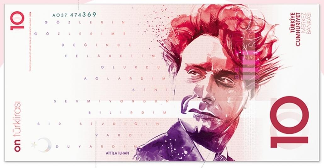 Türk Lirası'na Modern Banknot Tasarımları