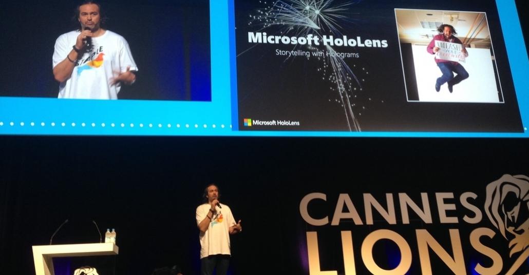 Microsoft HoloLens Hayatımızda Neleri Değiştirecek? [Cannes Lions 2015]