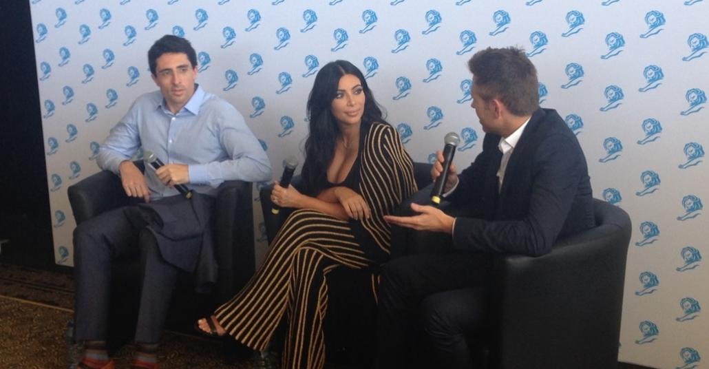 Kim Kardashian Cannes Lions'da Ne Arıyor?