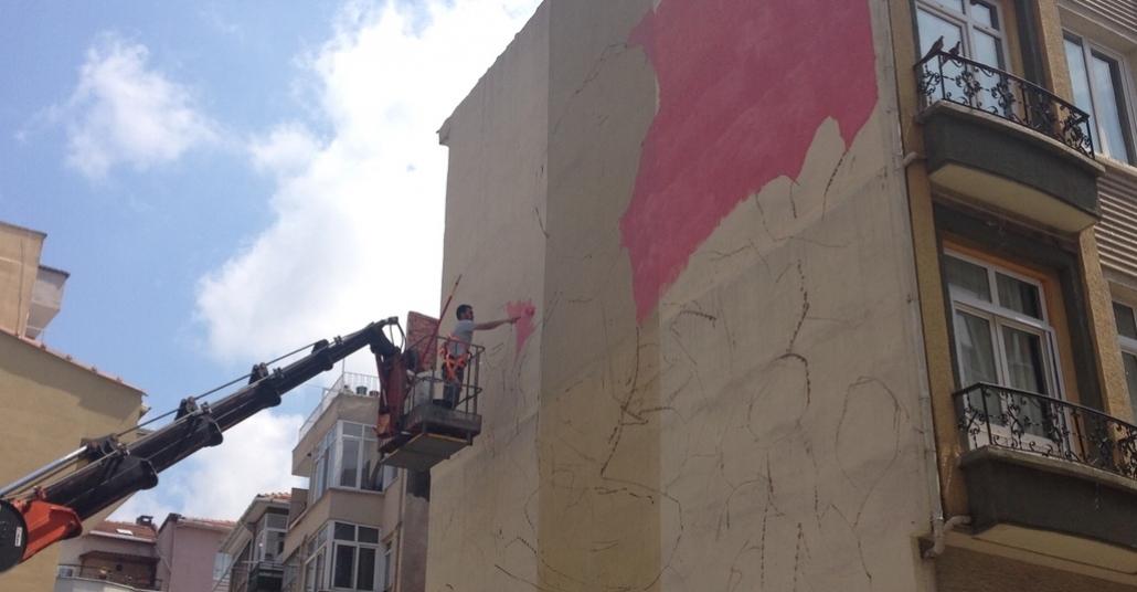 Muralİst Duvar Boyama Festivali Başladı