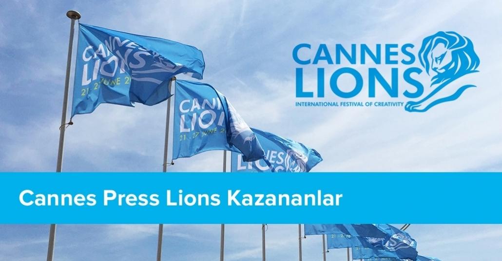 Press Kategorisinde Ödül Kazanan İşler  [Cannes Lions 2015]