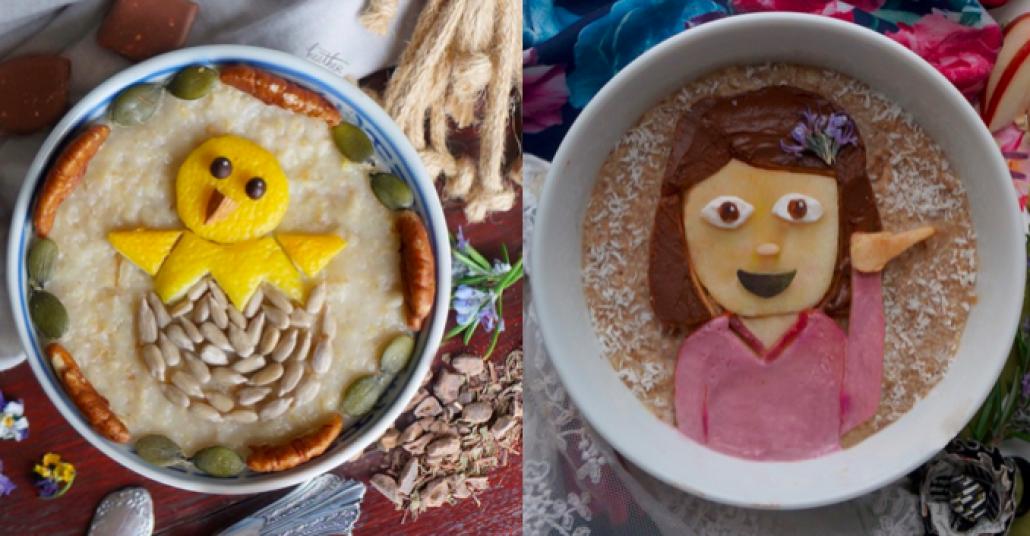 Yemeklerden Yapılan Emojiler