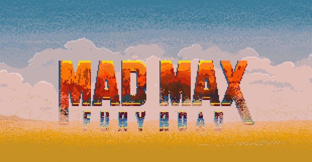 Mad Max: Fury Road Araçlarının 8-bit GIF'leri