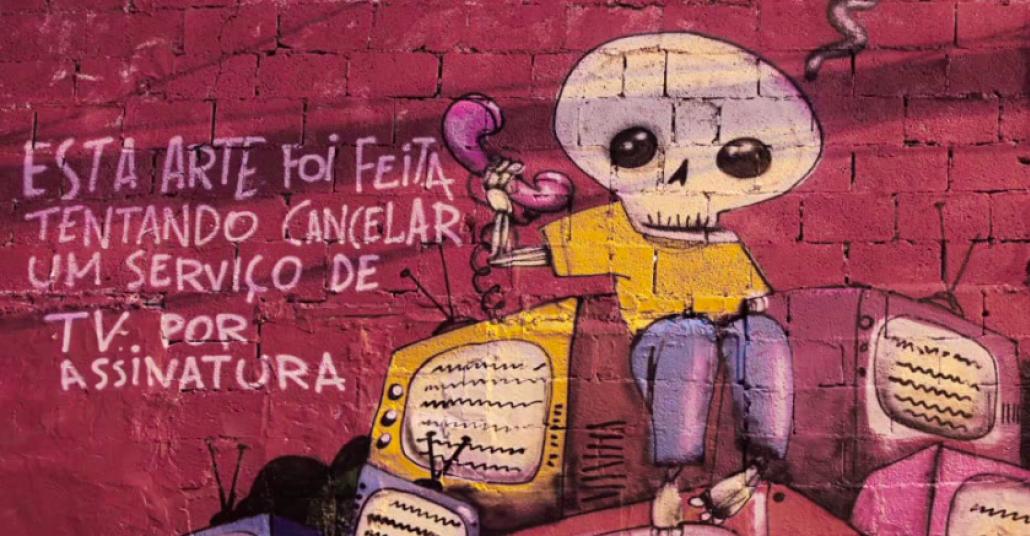 Çağrı Merkezinde Bekletilirken Yapılan Graffitiler