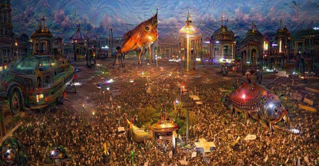 Sayısal Uyanış: Google DeepDream Yorumuyla Gezi Parkı Fotoğrafları