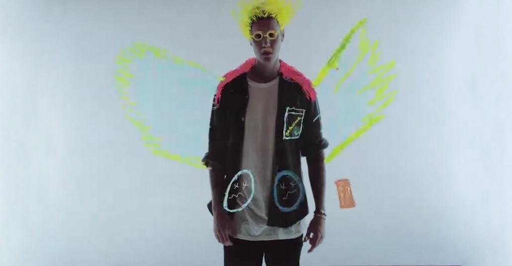 Justin Bieber'ı Boyayarak Yapılan Müzik Videosu