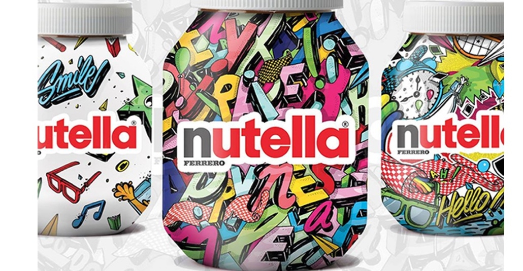 Parisli İllüstratörden Rengarenk Nutella Kavanozları