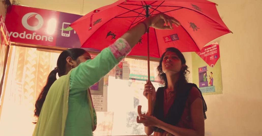 Vodafone'dan Kadınlara Özel Kendini Savunma Şemsiyesi