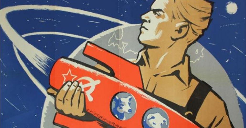 SSCB'de Soğuk Savaş Dönemi Uzay Temalı Propaganda Afişleri
